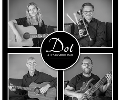 DOT & HITS PÅ STRIBE BAND
